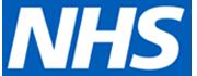 Blue NHS logo